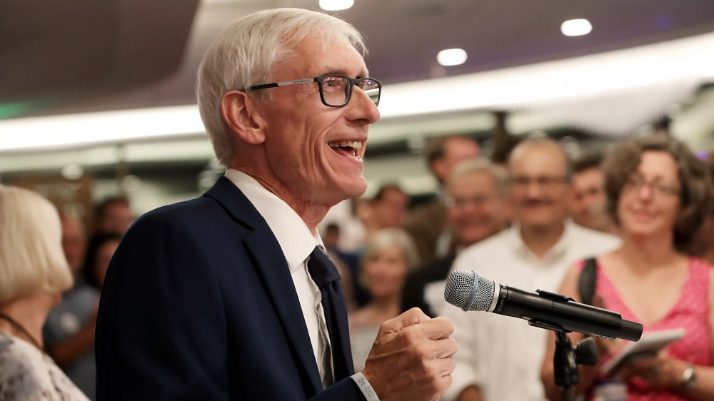 Tony Evers Wisconsin