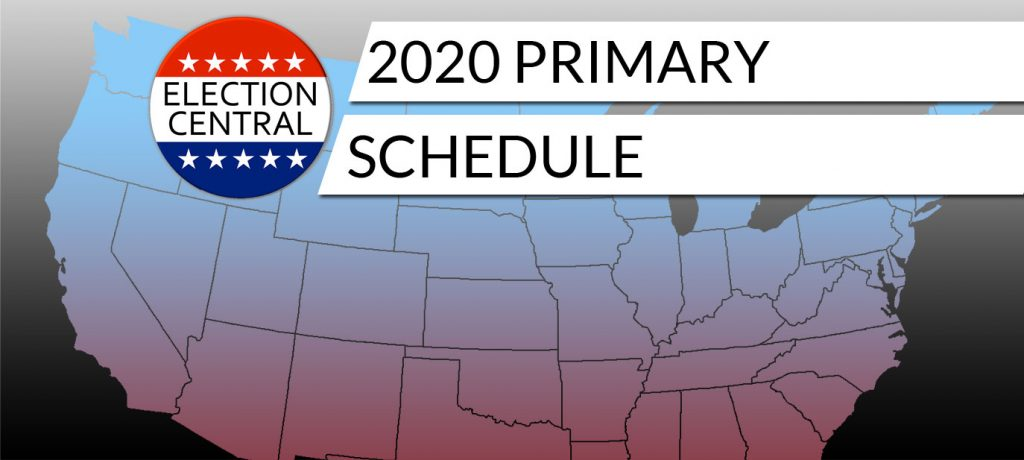 2020 Presidential Election Primary Schedule