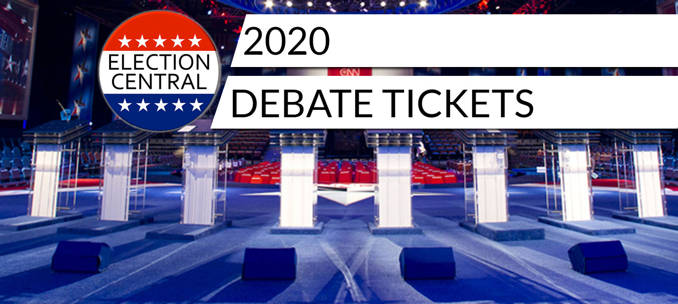 2020 Debate Tickets