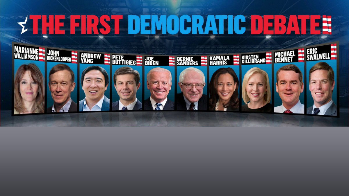 First Democratic Debate Night 2