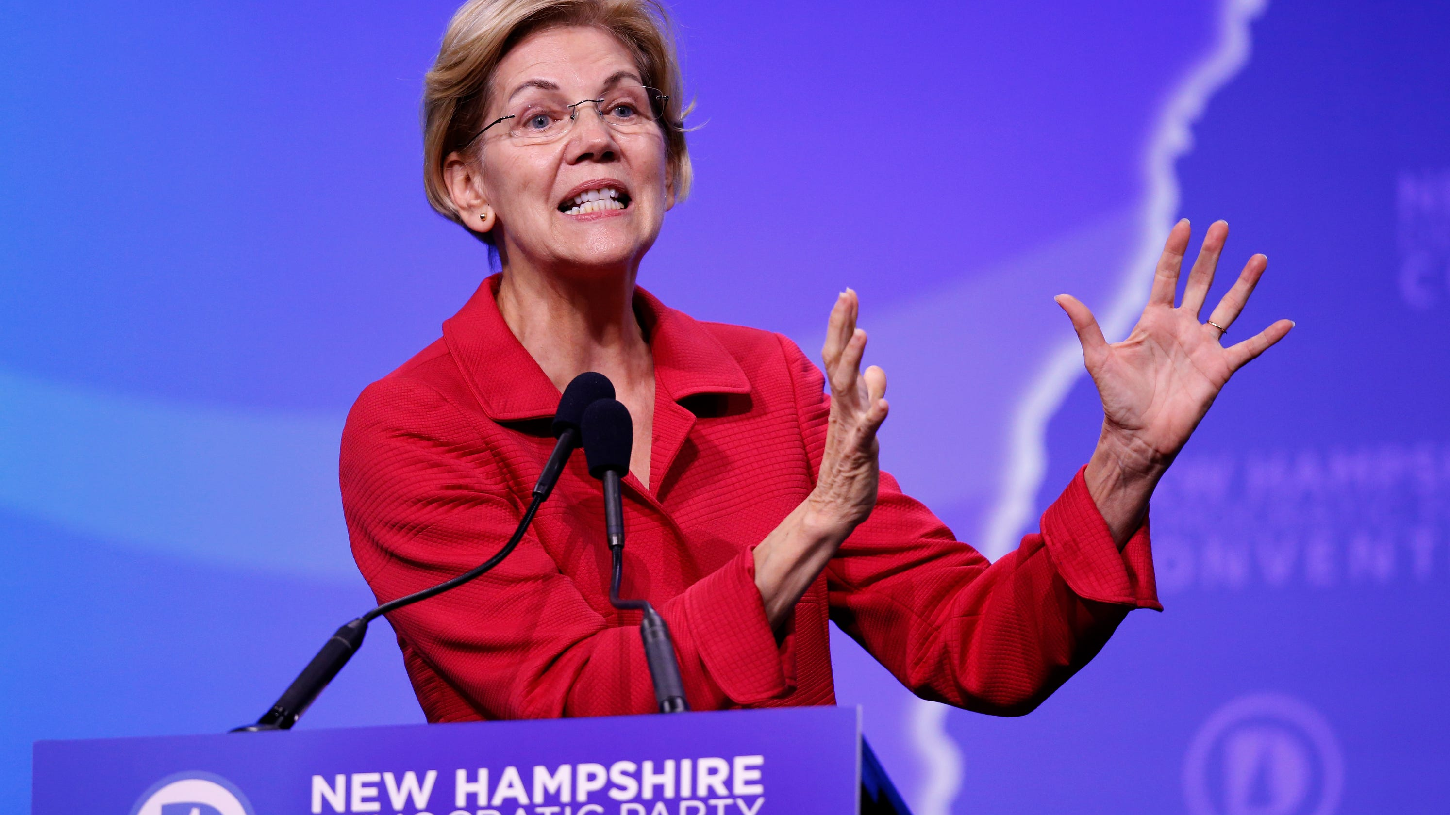 Elizabeth Warren won't do big-dollar fundraisers if she's nominated